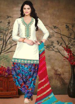 Miraamall Cotton Patiyala Salwar Suit