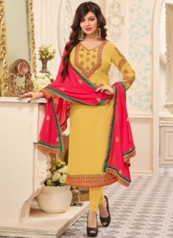 Miraamall Party Wear Churidar Suit