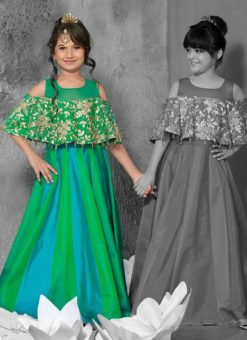 Miraamall Designer Kids Wear Gown