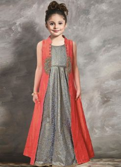 Miraamall Designer Kids Wear Gown
