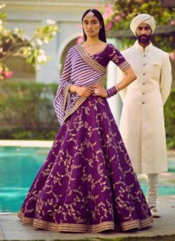 Miraamall Designer Wedding Wear Lehenga Choli