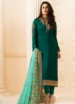 Designer Party Wear Kareena Kapoor Churidar Suit