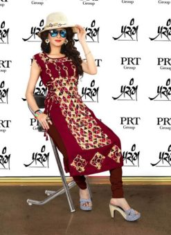 Prasang Cotton Partywear Designer Kurti