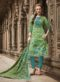 SareeBuzz Green Colored Cambric Cotton Salwar Suit