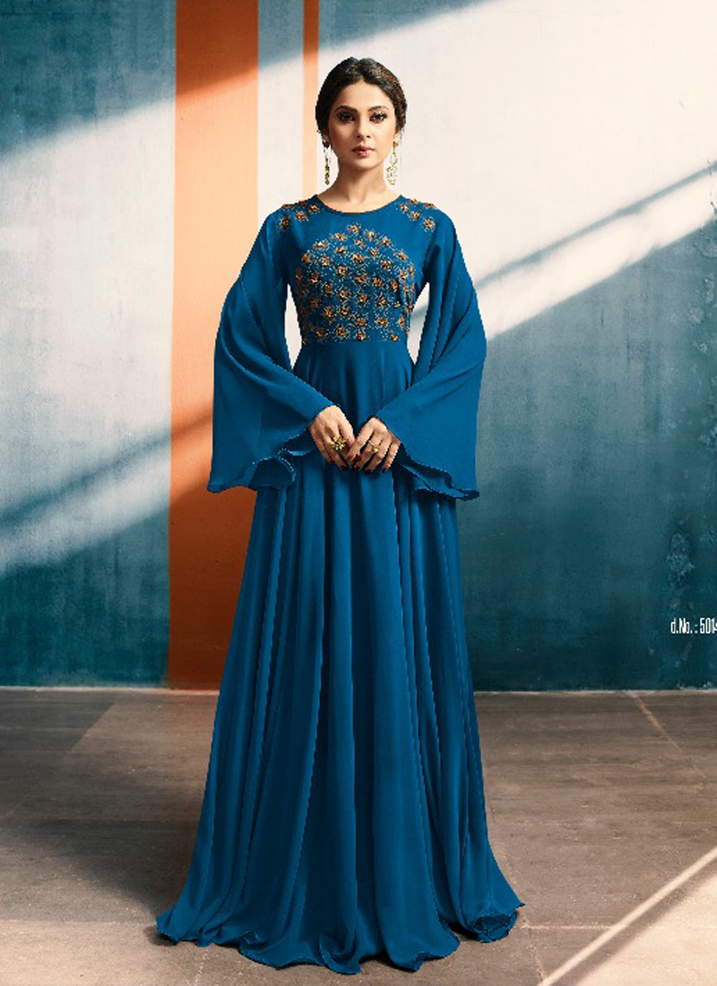 blue gowns canada