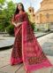 Masmairse Designer Triveni Multicolor Saree