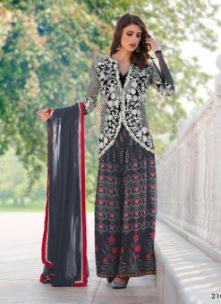 Miraamall Gulzaar 2100 Series Multi Color Designer Salwar Kameez