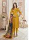 Kavya Designer Orange Churidar Salwar Suit