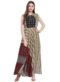 Multicolor Georgette Printed Designer Long Kurti