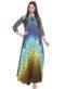 Multicolor Georgette Printed Designer Long Kurti