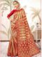 White Net Cut Work Butterfly Designer Saree
