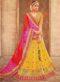 Beige Silk Zari Weaving Wedding Lehenga Choli]