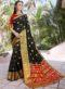 Black Silk Zari Weaving Saree