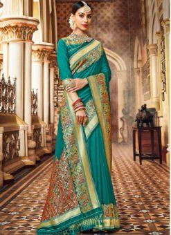 Designer Traditional Wear Silk Saree