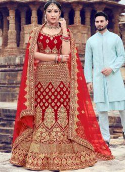 Bridal Wear Designer Lehenga Choli