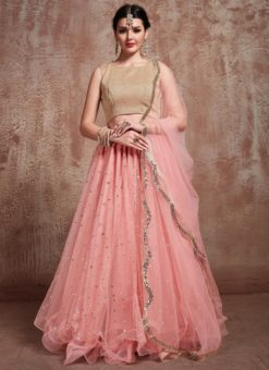 Fancy Party Wear Designer Lehenga Choli