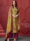 Printed Party Wear Pure Cotton Silk Palazzo Suit