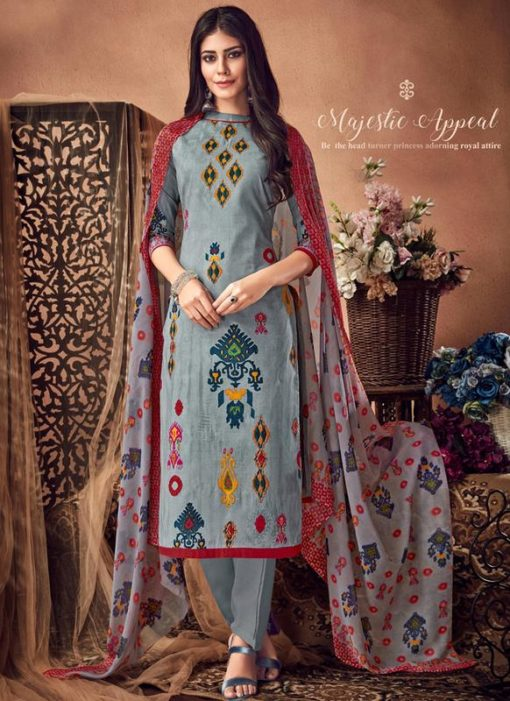 Printed Casual Wear Pure Cambric Salwar Suit