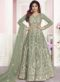 Shamita Shetty Designer Partywear Light Brown  Silk Salwar Suit