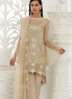 Off White Georgette Designer Pakistani Suit