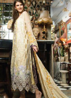 Yellow Cambric Cotton Pakistani Suits