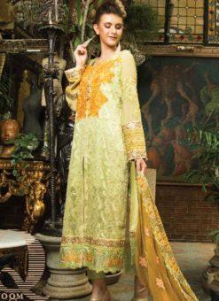Pista Green Cambric Cotton Pakistani Suits
