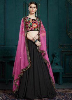 Multicolor Wedding Designer Georgette Lehenga Choli