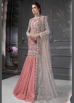 Designer Heavy Net Gajari Party Wear Pakistani Suit