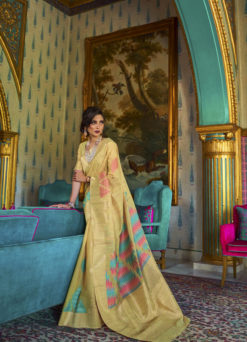 Miraamall Silk Saree Collection From Rajtex Green And Asthetic