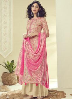 Latest Designer Multicolor Pure Zam Cotton Salwar Suit