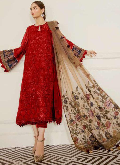 Designer Faux Georgette Pakistani Style Salwar Suit